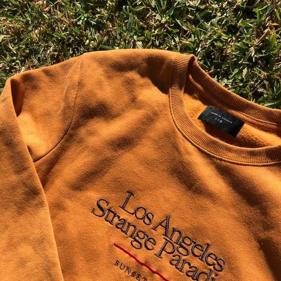 LA Strange Paradise Orange sweatshirt